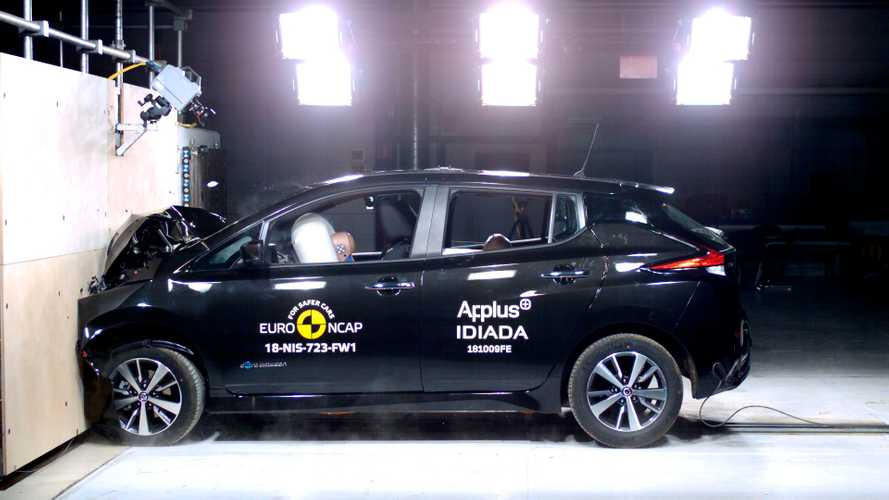 Watch New Nissan LEAF Ace Euro NCAP Crash Tests + Gallery