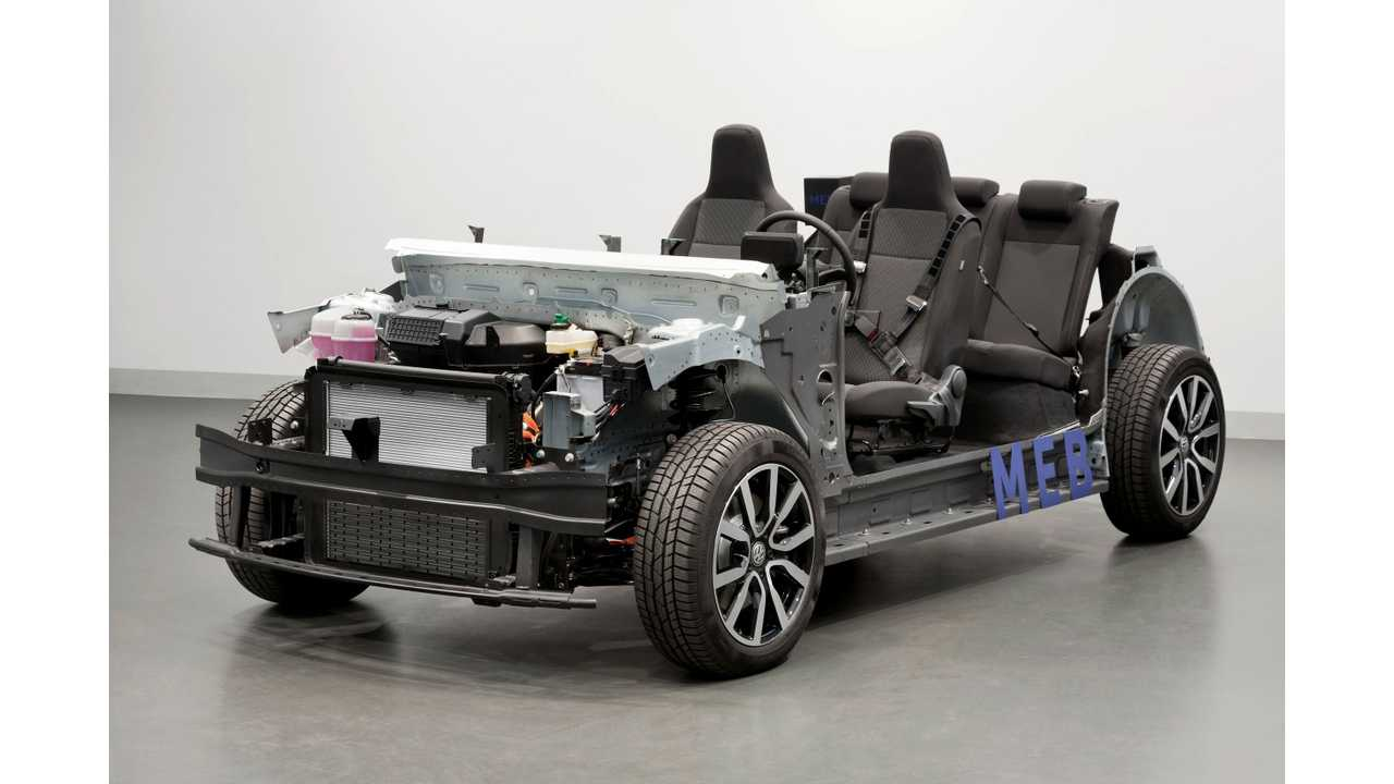 Volkswagen Plans Massive Electric Car Offensive: 1 Million EVs By 2025