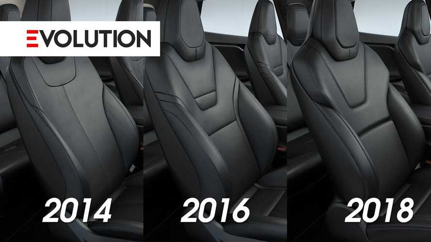 Watch Tesla Model S Seats Evolve Over Time