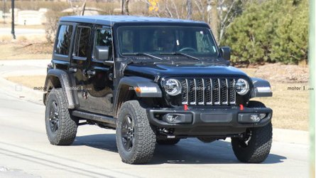Jeep Wrangler Plug-In Hybrid Spied For First Time