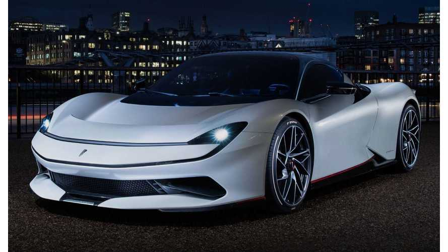 Pininfarina Batista Shows Up With 1,900 HP In London