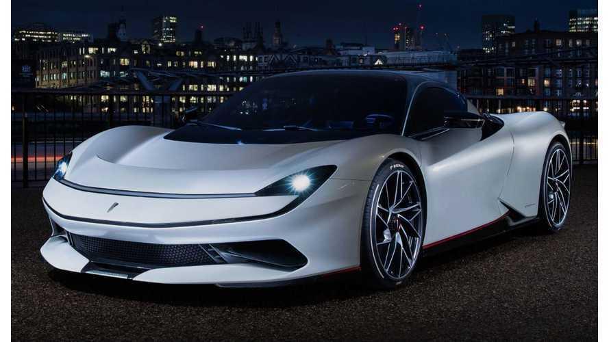 Pininfarina Batista Shows Up With 1,900 HP In London