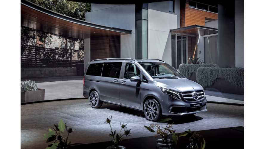 Mercedes-Benz EQV Electric Minivan To Debut In Geneva