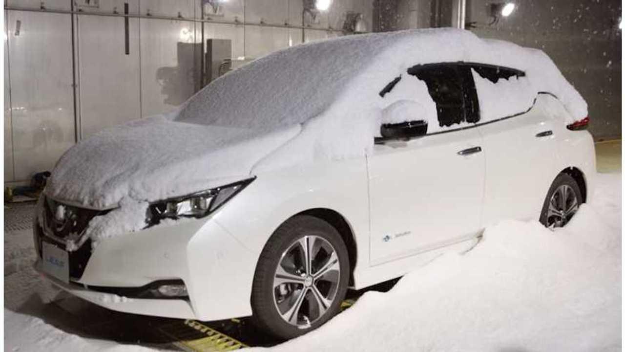 Electric Cars Power On Through Harsh Yukon Winter