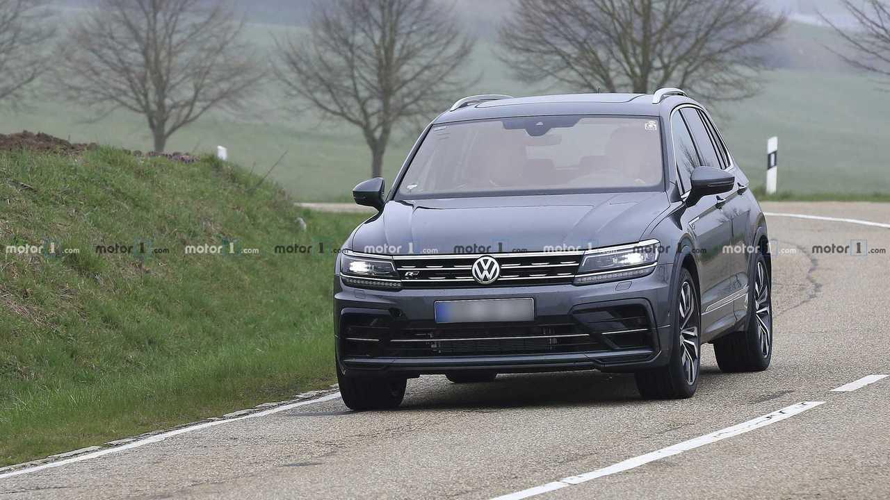 Volkswagen Tiguan R 2019, nuevas fotos espía