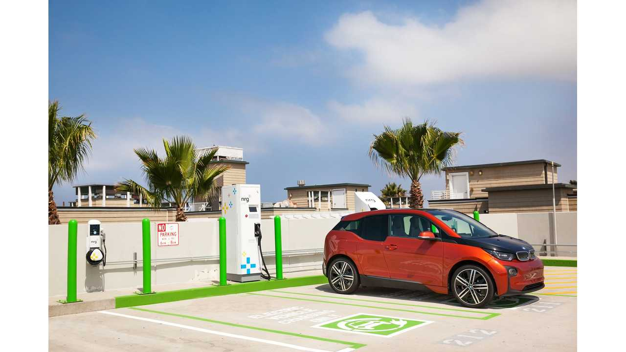 Public Private Partnership Between City Of Hermosa Beach And Nrg Evgo Brings New Electric Car