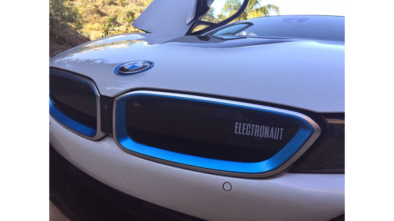 World's First Electronaut Edition BMW i8