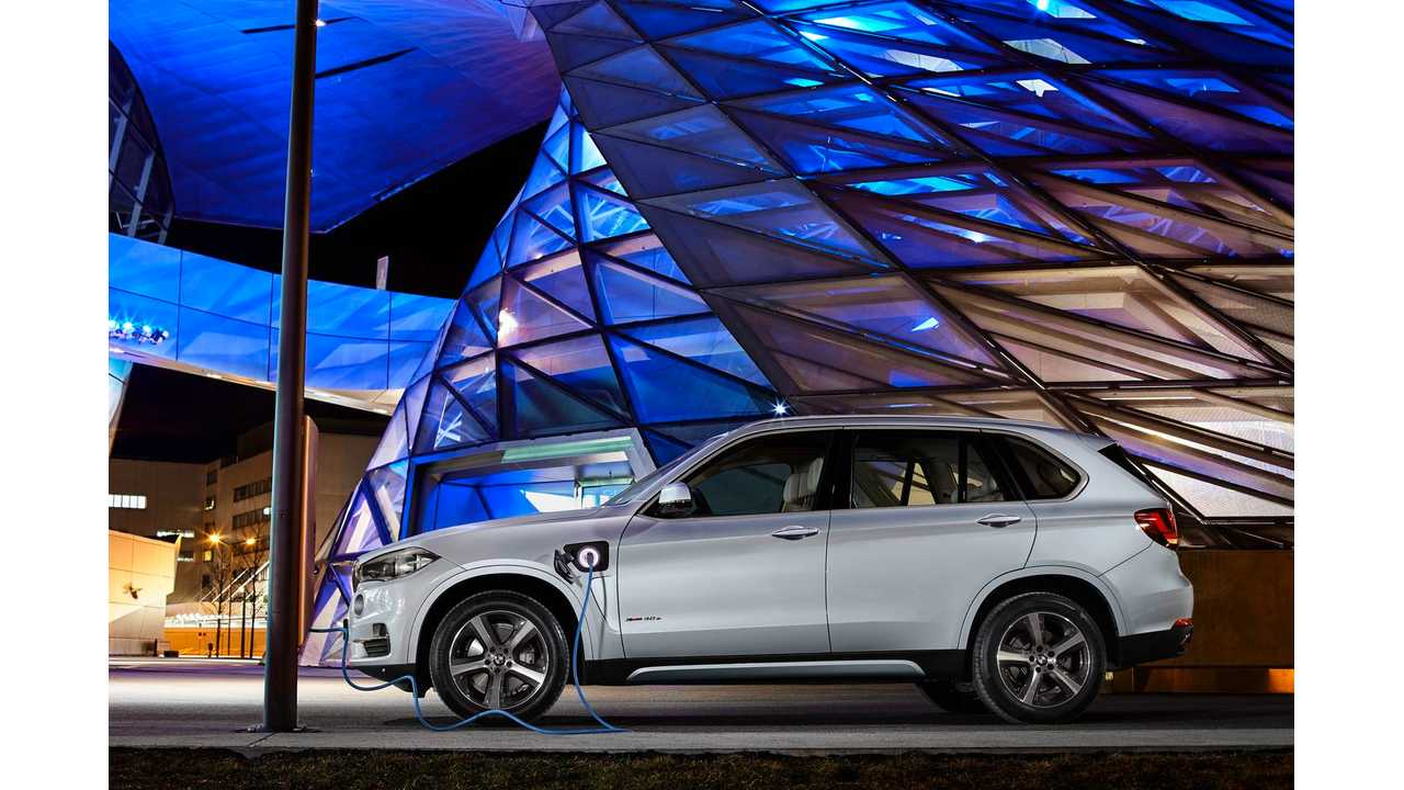 BMW X5 xDrive40e To Get World Debut At Auto Shanghai 2015