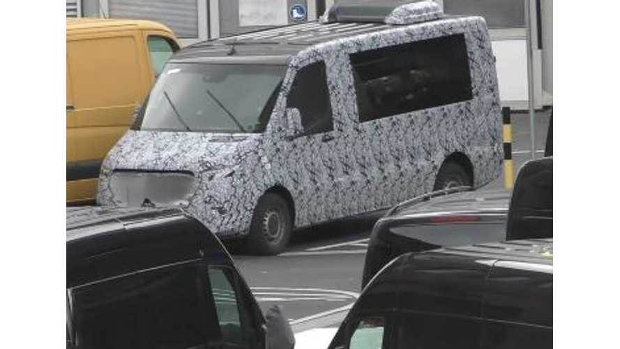 New Mercedes Sprinter Spied, Electric Version Coming - Video