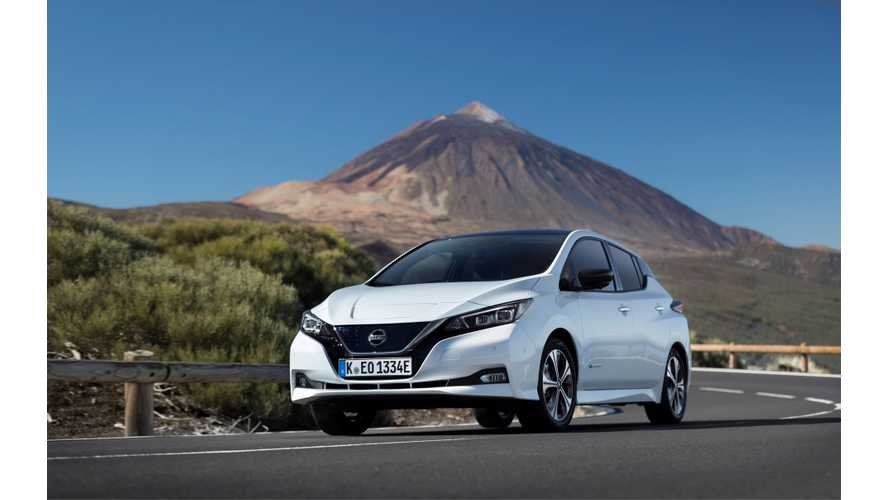 Car And Driver Says New Nissan LEAF Is A Giant Step Forward