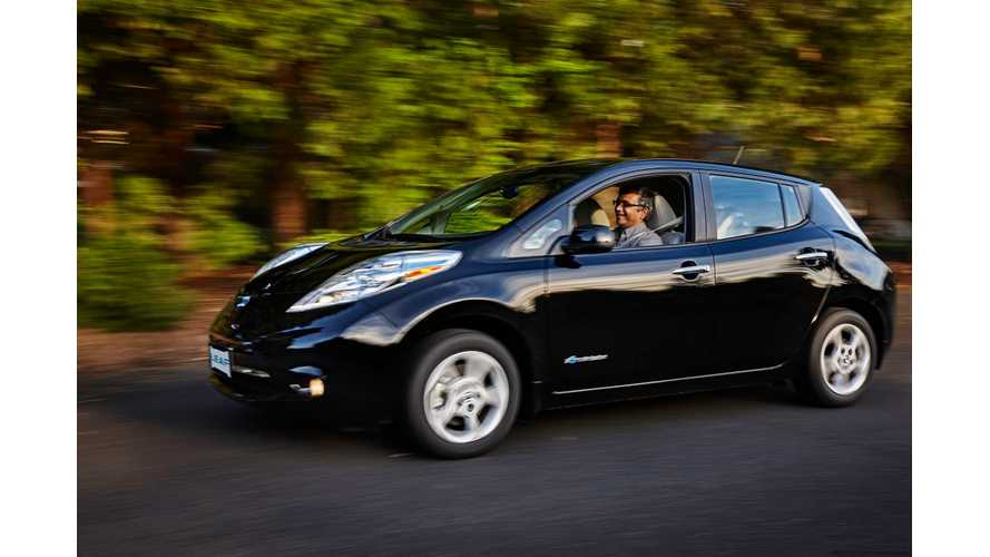 Nissan LEAF Sales Strengthen In March, Takes All-Time US Plug-In Sales Lead