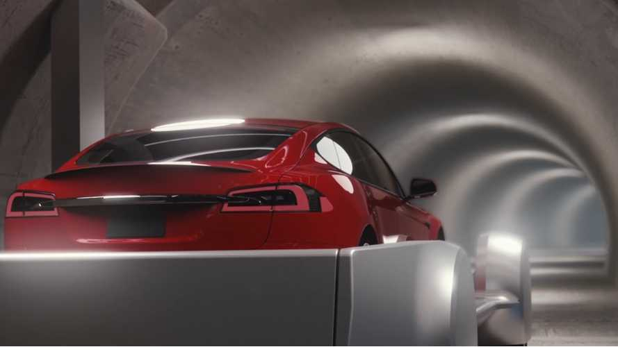 "Musk Debuts The ""Boring Company"", Watch Tesla's EVs Travel Underground - video"