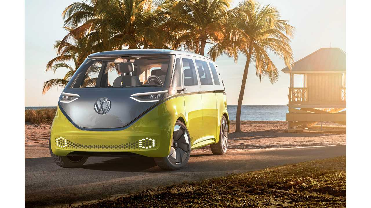 Volkswagen I.D. BUZZ: All-Electric, 270 Mile Microbus Confirmed For 2022