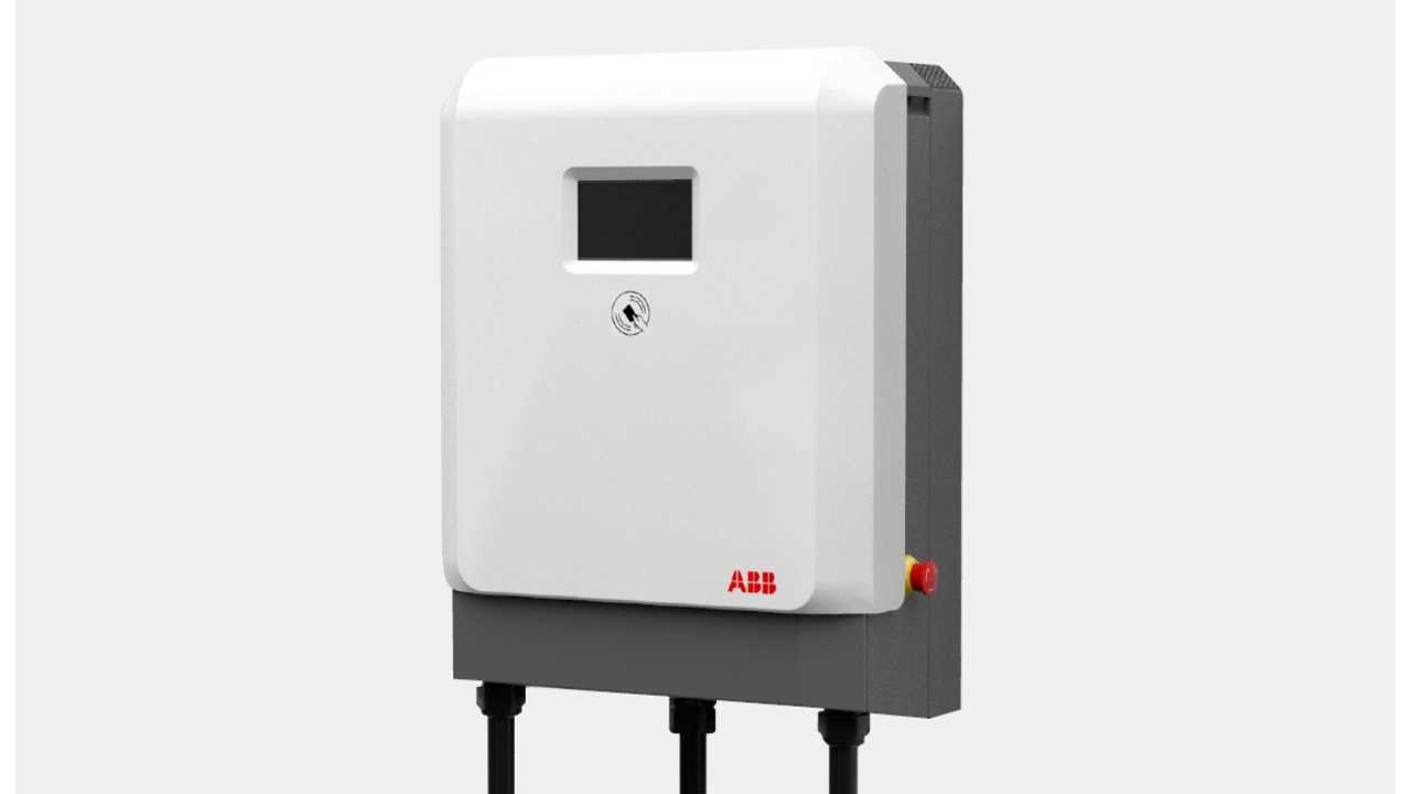ABB Presents 24 kW DC Wallbox For CCS & CHAdeMO