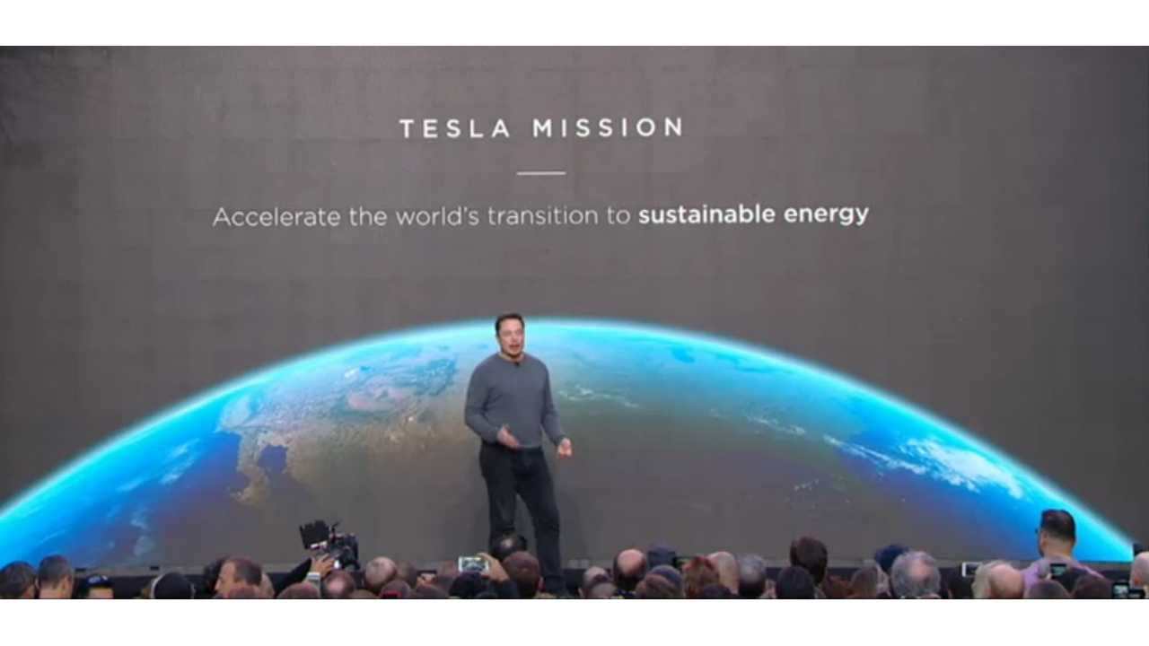 Tesla CEO Elon Musk at