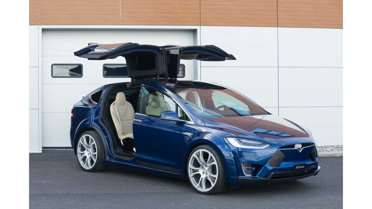 FAB Design Presents Custom Tesla Model X In Geneva