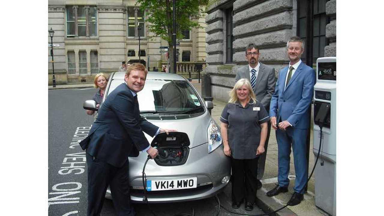 Birmingham City Council Begins 6-Month Nissan LEAF Fleet Trial
