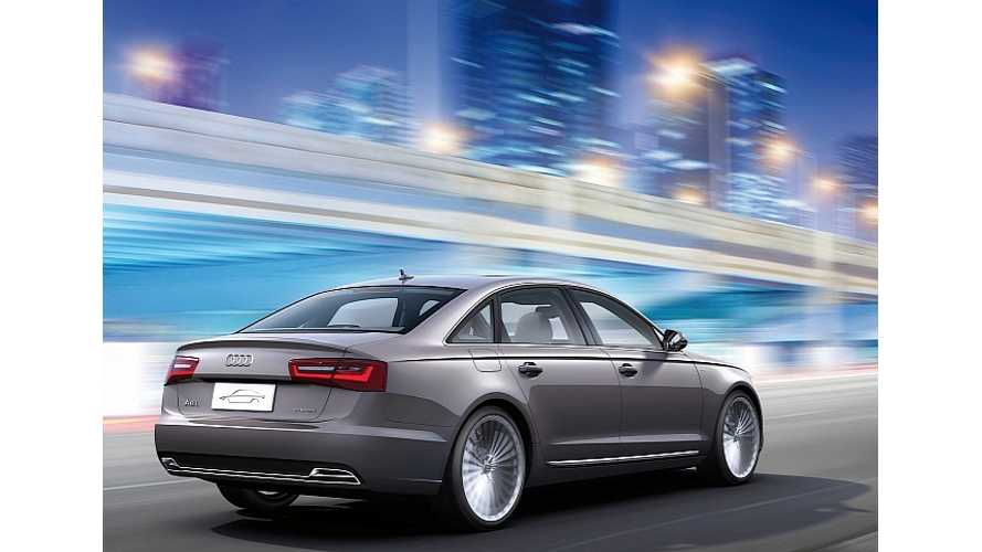 Audi Chooses Plug-In Hybrid Over BEVs For Green Charge Into China