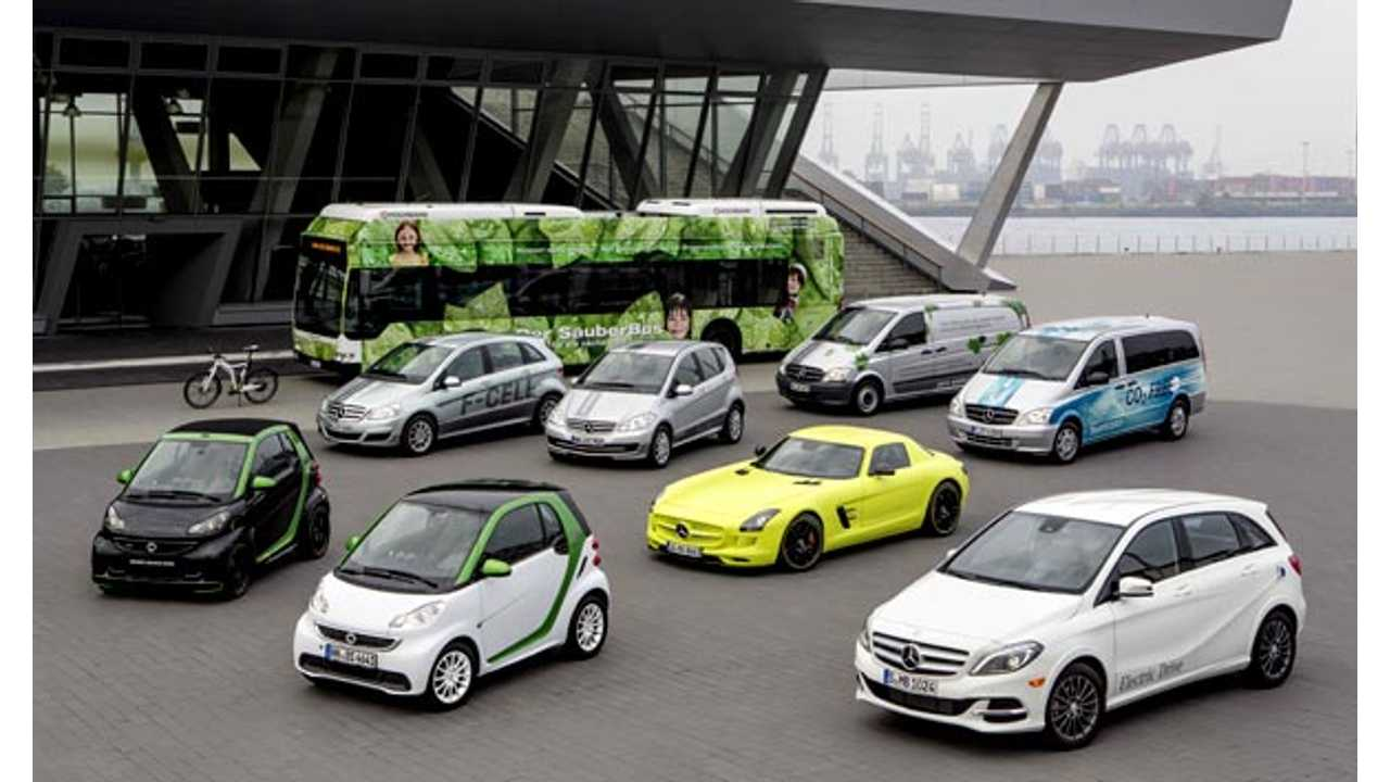 Mercedes-Benz Buyers Want Performance AMG Models, Not More Plug-In Electric Cars