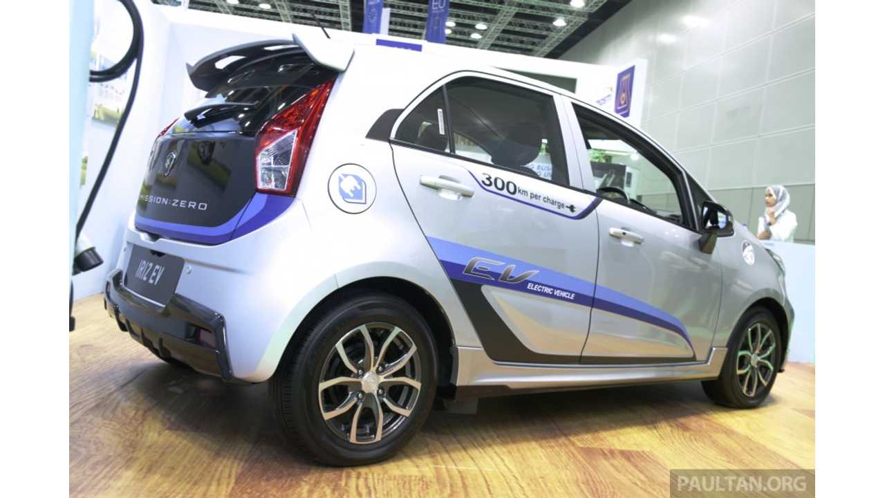 Malaysia Sets Target Of 100,000 EV By 2020