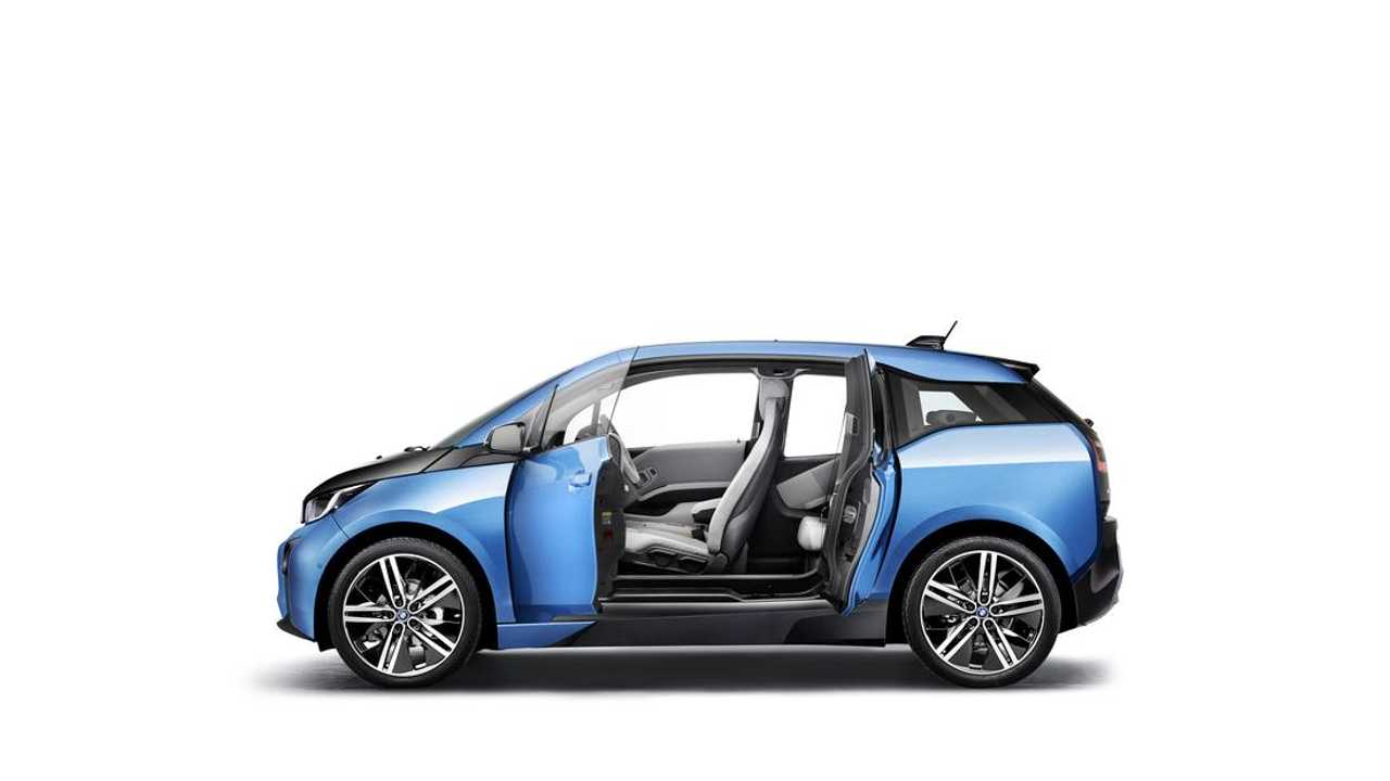 BMW i3 Protonic Blue