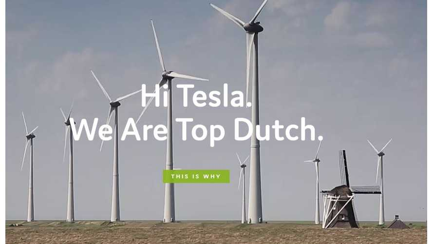 TopDutch.com Calls For Tesla Gigafactory 2 To Be Built In The Netherlands