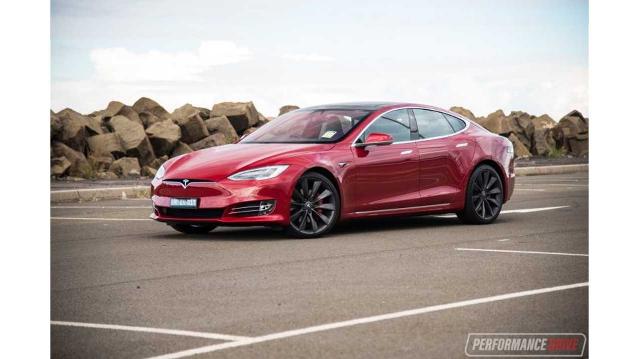 2017 Tesla Model S P100D tested by the PerformanceDrive.com.au
