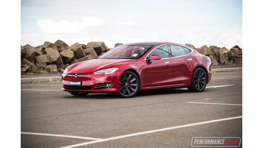 2017 Tesla Model S P100D In Australia - Video Review