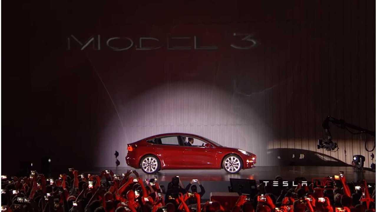 Tesla Model 3 Test Ride - Video (update)