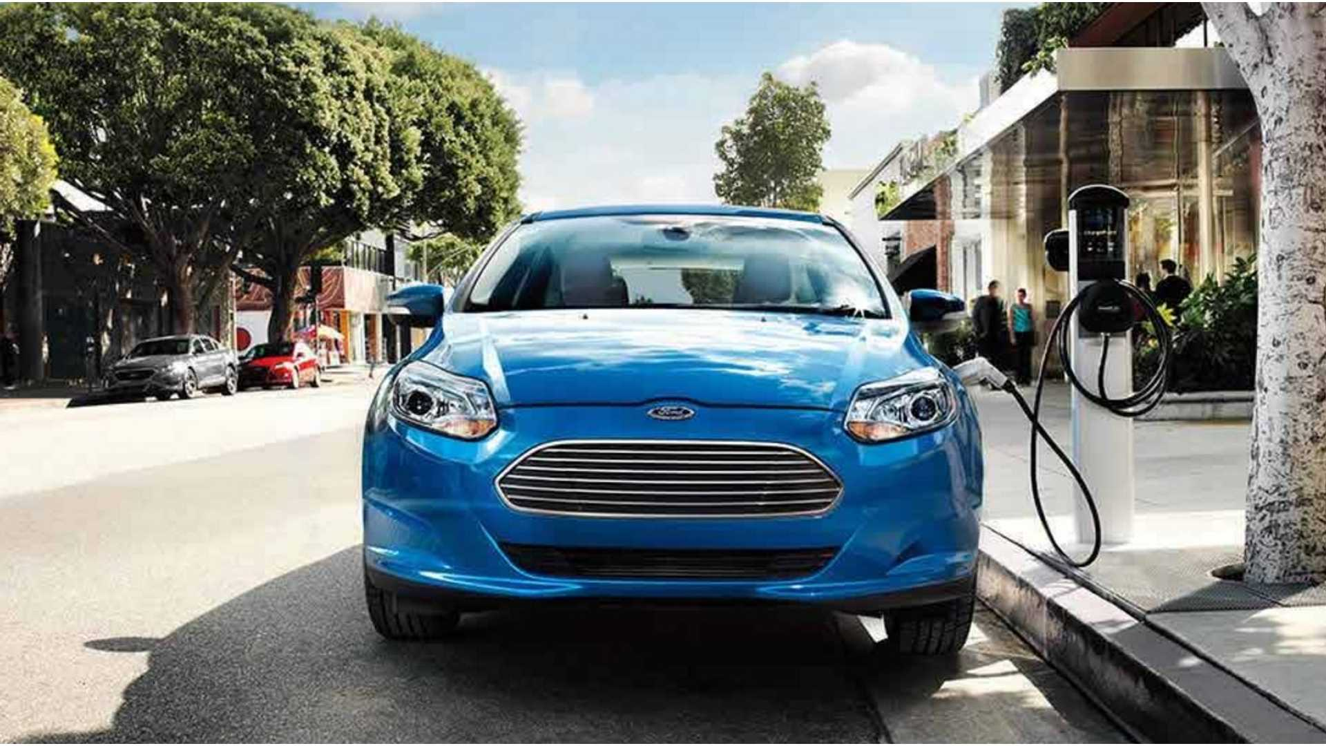 European Ford Focus Ev Gets 33 5 Kwh Battery Pack Improved Electric Range