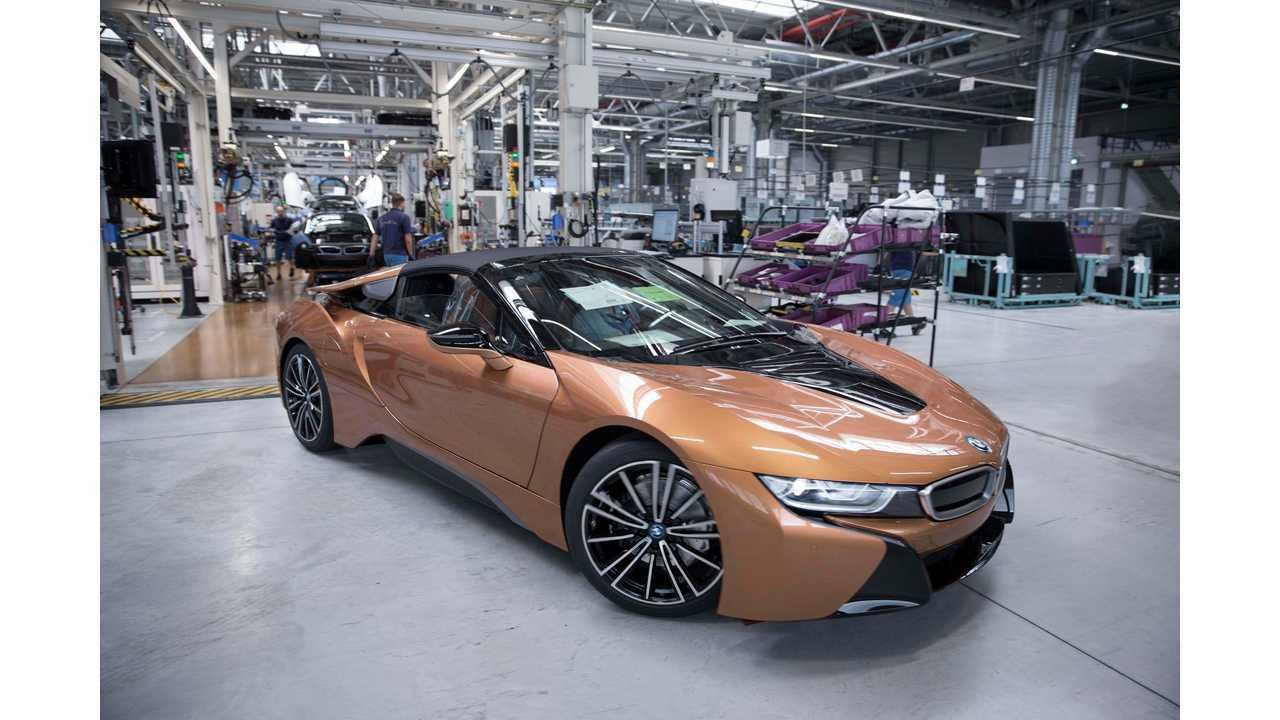 BMW Starts Production Of i8 Roadster PHEV