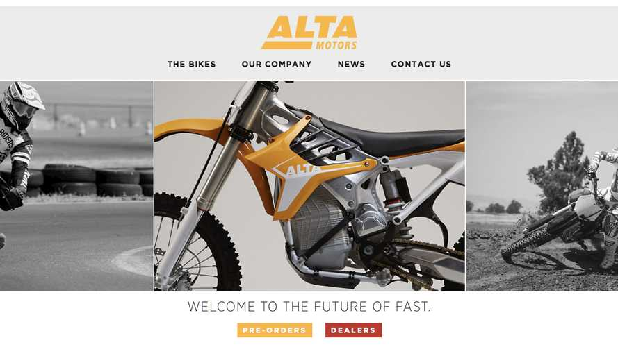 BRD Changes Name, Becomes Alta Motors