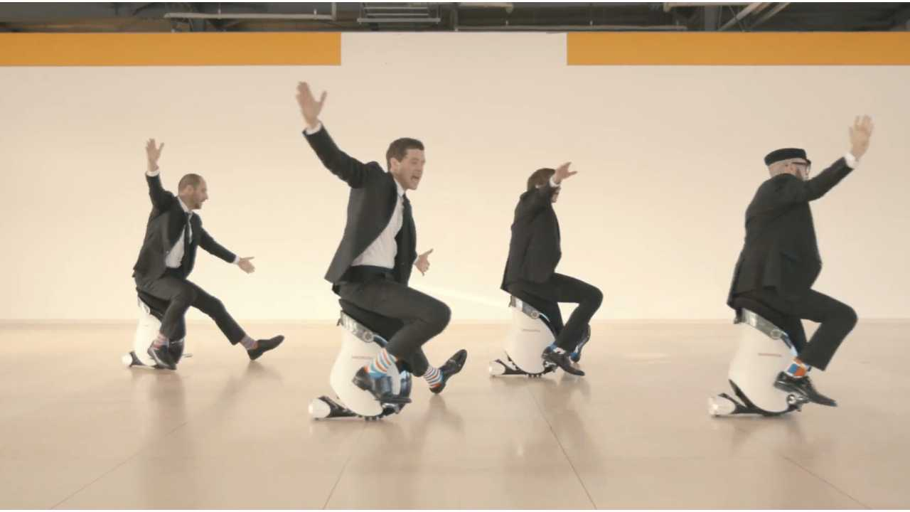 OK Go Video Features Honda UNI-Cub β, Rocks Our Socks