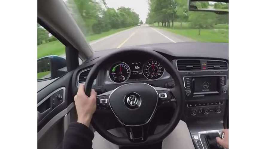 Winding Road Reviews Volkswagen e-Golf - Video