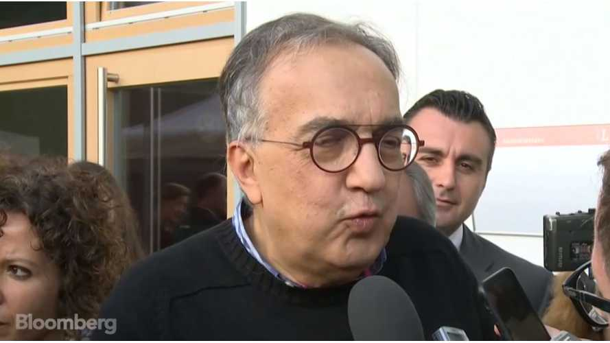 Marchionne Again Says Electric Cars Aren't The Solution - Video