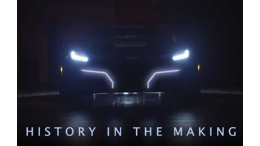 Here's The 800-HP, 220-MPH Electric Corvette We've Been Waiting For - Video