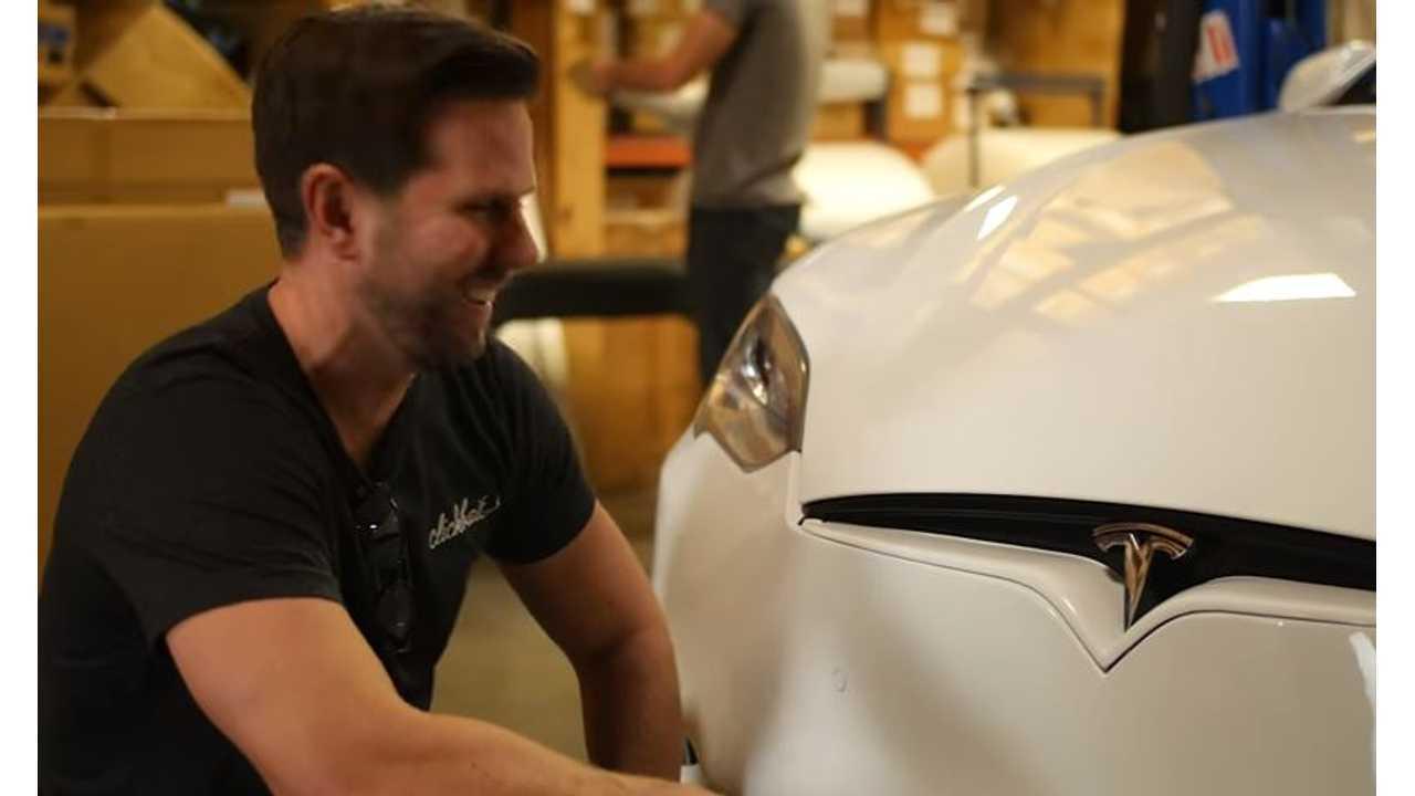 Teslanomics Updates 2013 Tesla Model S With Unplugged Performance Facelift - Video