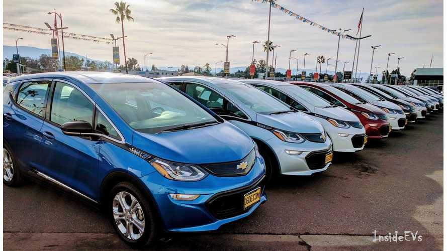 Chevrolet Bolt EV Sales Race Higher In January, But Volt Still King