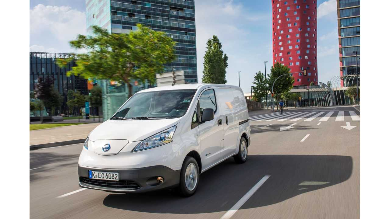 How Much Can You Save With Nissan e-NV200? - Infographics