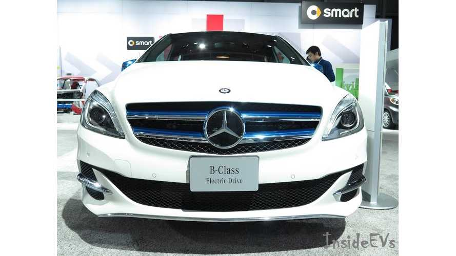 First Batch Of Mercedes-Benz B-Class Electric Drive EVs To Hit US Soil This Weekend