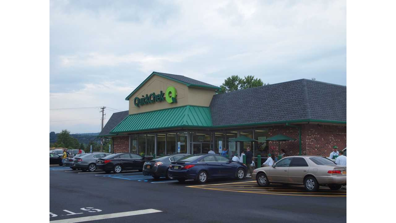 QuickChek Adds Tesla Superchargers At New York Convenience Store Location