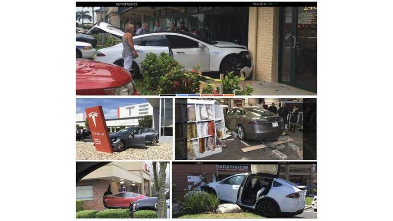 When Will Teslas Stop Crashing Into Buildings?