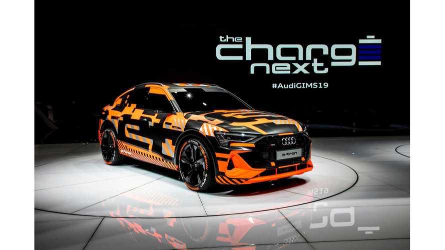 Audi E-Tron Sportback, E-Tron GT Stun In Geneva: Live Photos, Videos