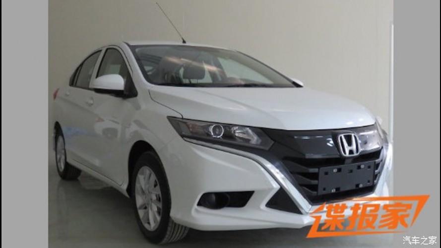 Flagra: Inédito Honda City hatch está pronto na China