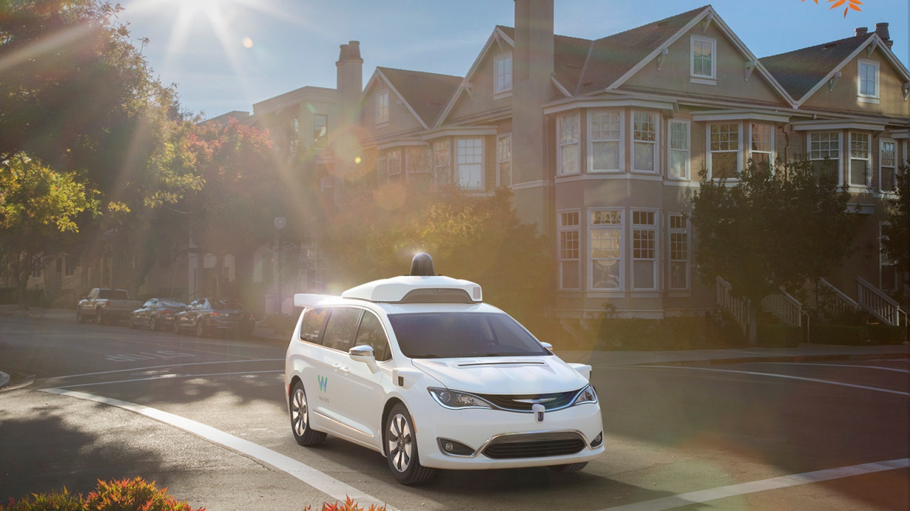 Chrysler Pacifica Waymo