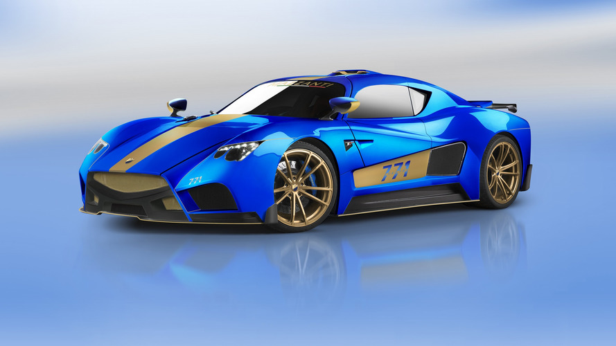 La Mazzanti Evantra de 771 ch dans les starting-blocks