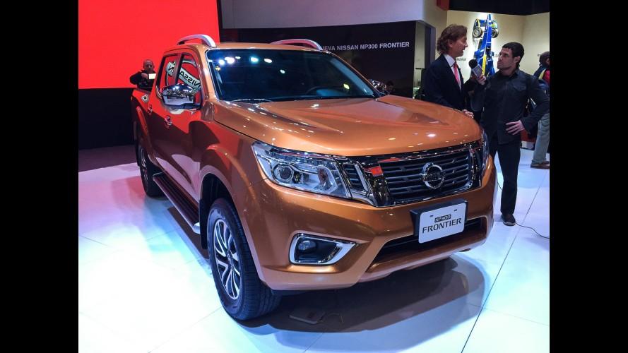 Buenos Aires: Nissan mostra nova Frontier, que não chega tão cedo ao Brasil