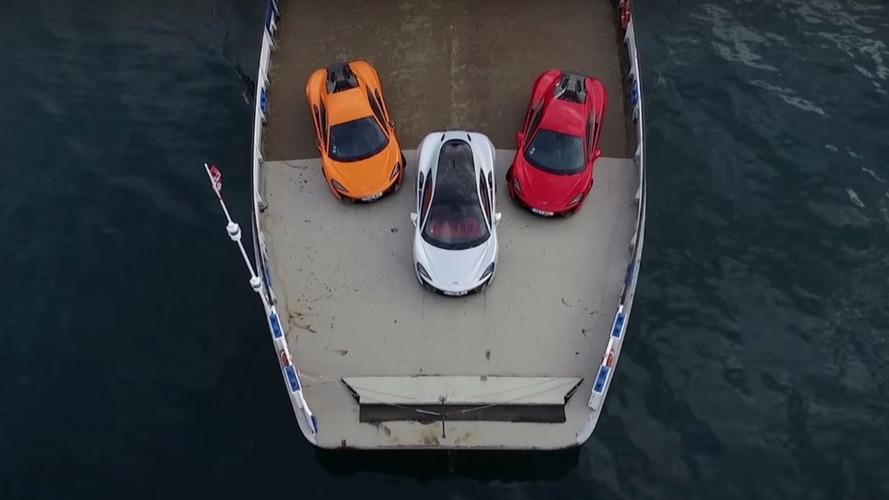 VIDÉO - Les McLaren Sport Series à l'assaut des routes européennes