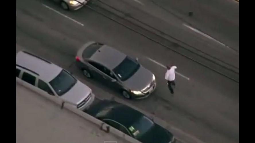 """Vídeo: perseguição policial em Los Angeles ao """"estilo GTA"""""""