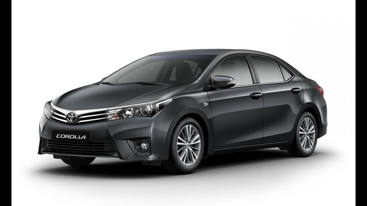 Veja a nova tabela de preços da Toyota; Corolla Altis vai a R$ 104 mil
